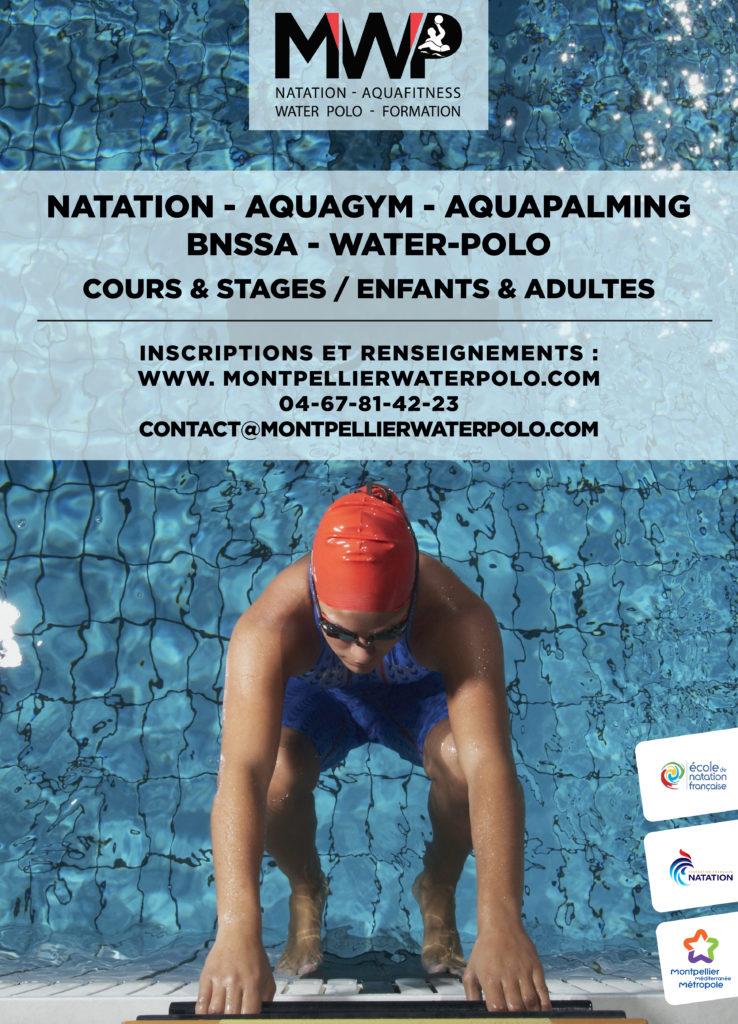 École de natation Montpellier - Apprendre à nager